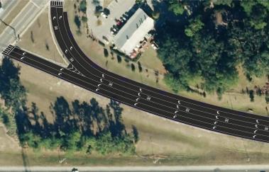 I-75-SR 222 NB exit ramp Concept-1