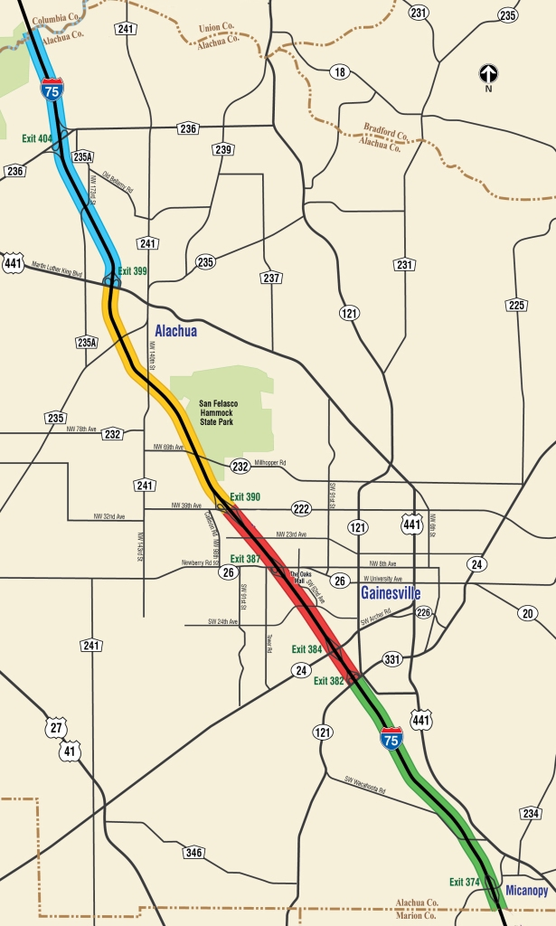 I-75_ 5 projects Map blog