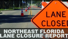 Lane Closed FDOT District Two (2) Lanes Closure Report Weekly