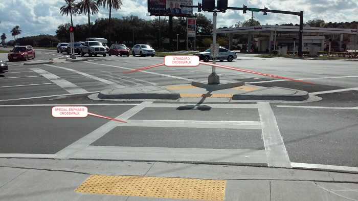 Special Emphasis Crosswalk
