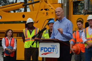 gov-scott-press-conference-for-i-95i-295-n-interchange-project-gov-scott-speaks